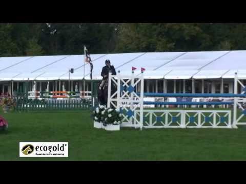 Clayton Fredericks and Brookleigh - Blenheim Horse Trials 2010 - Show Jumping