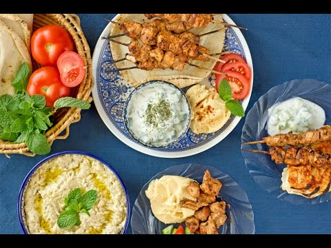 Chicken shish kebab وصفه الشيش طاووق