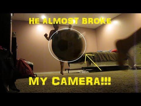 HE ALMOST BROKE MY CAMERA!!! (Vlog #19)