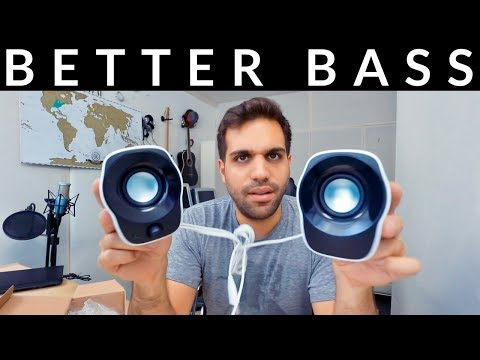 HOW TO MAKE YOUR BASS SOUND BETTER ON SMALL SPEAKERS