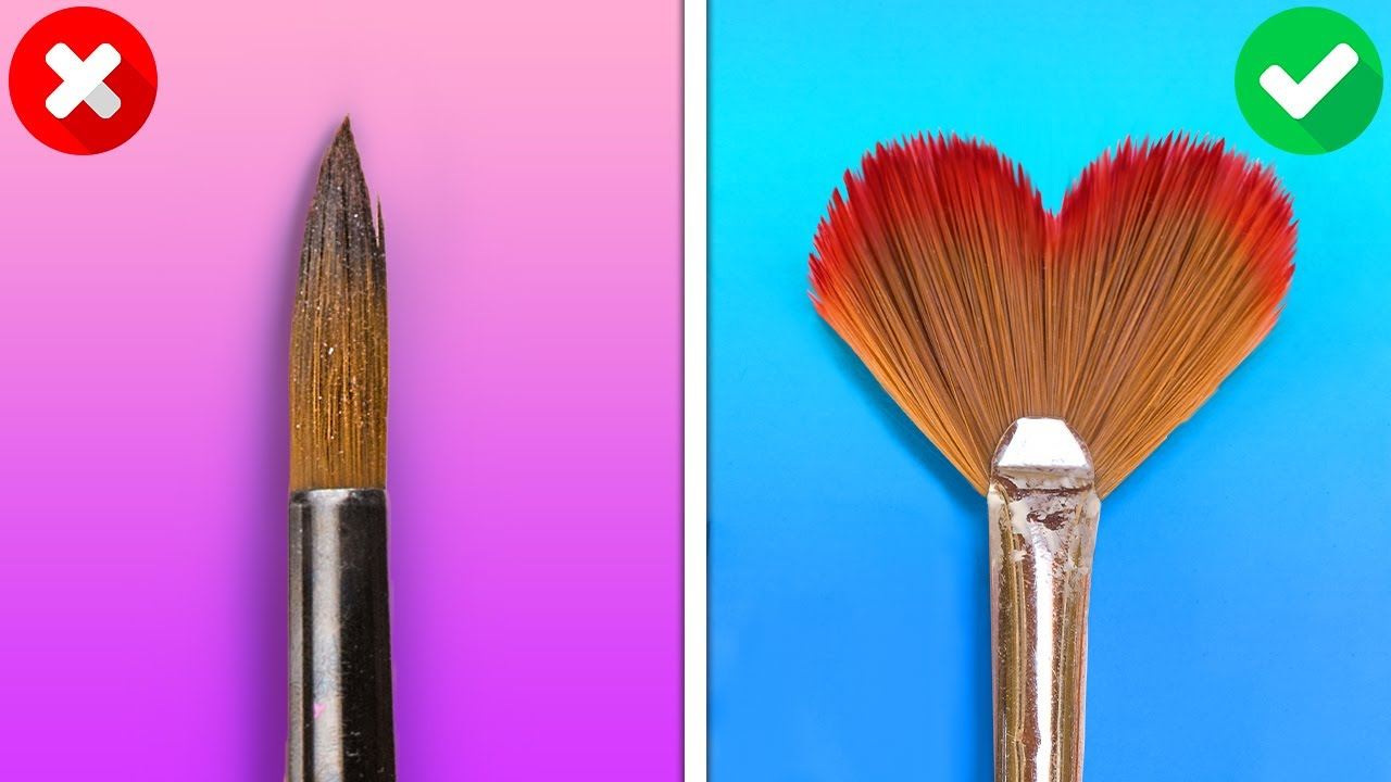 HOW TO PAINT FOR BEGINNERS AND PROS    Wonderful Drawing Tricks And Art Techniques