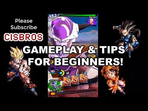 【ドラゴンボール レジェンズ】DRAGON BALL LEGENDS GAMEPLAY AND SOME TIPS FOR BEGINNERS!