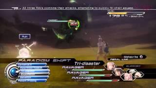 FINAL FANTASY XIII-2 - Yomi Battle (Trapezohedron Farming Strategy)