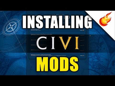 How to Manually Install Mods in CIVILIZATION VI
