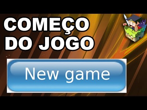 Tela inicial do jogo - RPG Maker MV