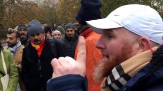Talk man! Hamza vs Black Israelite| Speakers Corner | Hyde Park