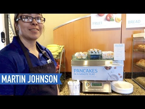 Breakfast at the Holiday Inn Express | American Road Trip