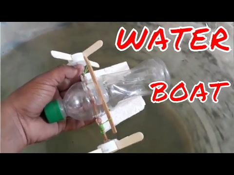 How to make water boat | self energy water boat | Without MOTOR Boat