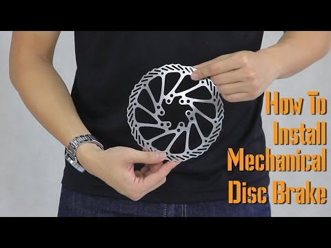 How to Install Mechanical Disc Brake