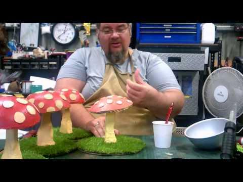 Magic Mushrooms for larp or fairy parties