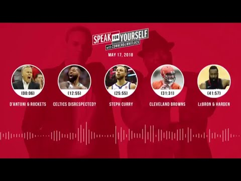 SPEAK FOR YOURSELF Audio Podcast (5.17.18) with Colin Cowherd, Jason Whitlock | SPEAK FOR YOURSELF