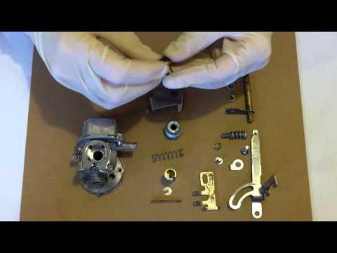 Mariner 2hp outboard carb rebuild