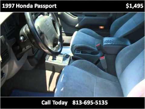 1997 Honda Passport Used Cars Riverview FL