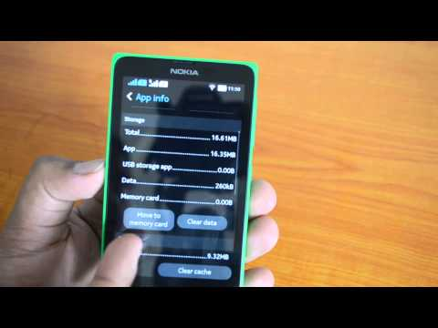 How to Move Installed Apps to SD Card on Nokia X