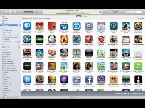 How to update apps in iTunes