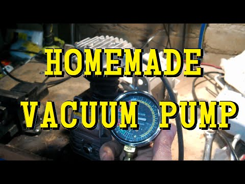 Can an Air Compressor Pump be a Vacuum Pump?