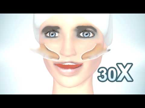 Natural facelift  for a slim and sleek face - Cheekbone exercise - Face tec media