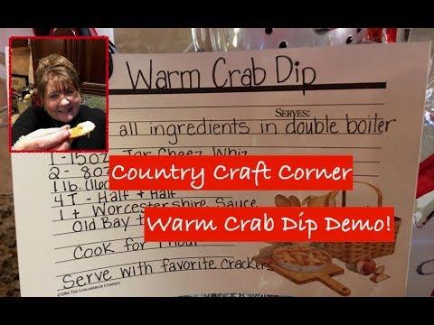 Warm Crab Dip Demo