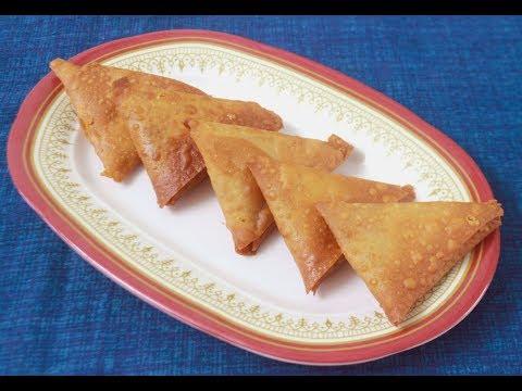 Onion Samosa Recipe in Tamil l How to make perfect Samosa l South Indian Samosa