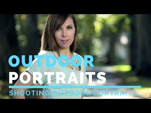 Outdoor Portrait Photography Natural Light Tutorial Outdoor Portrait Photography Fill Flash Tutorial