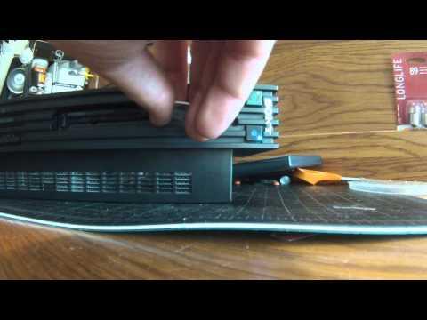 PS2 Playstation 2 disc swap technique