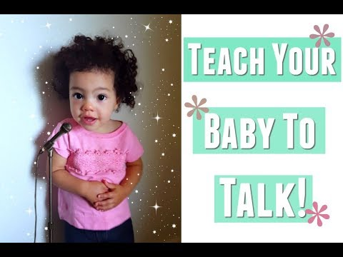 How to teach your baby to talk early, 5 easy ways to encourage baby to talk