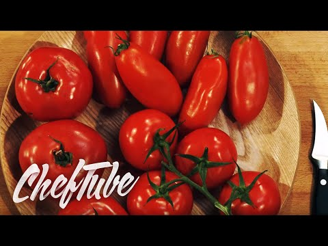 How to prepare Tomatoes for cooking or for salads.