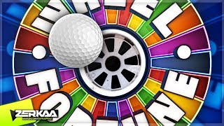WHEEL OF FORTUNE MINIGOLF! (Golf It)