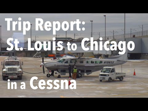 TRIP REPORT - Air Choice One (Cessna 208B), St. Louis to Chicago (ORD)