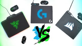 Comparison! Razer HyperFlux vs Logitech Powerplay vs Corsair MM1000 & Dark Core