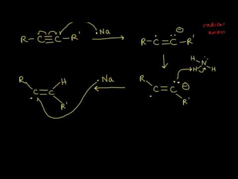 Reduction of alkynes | Alkenes and Alkynes | Organic chemistry | Khan Academy