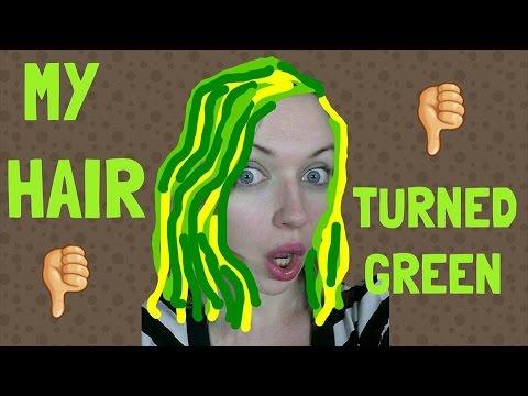 My hair turned green | Blonde gone wrong | IdleGirl