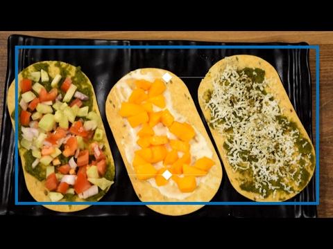 Khakhra Topping | Khakhra Pizza recipe | Healthy Snacks for Kids Recipes | Shree's Recipes