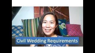 15 54 Civil Wedding Requirements Birth Certificate Cenomar Id Cedula Etc