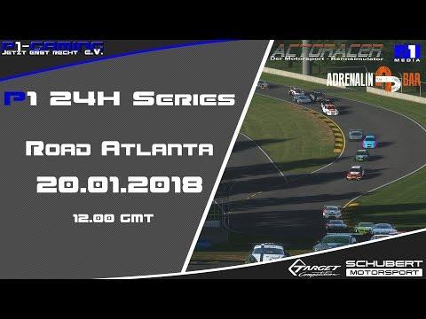 rFactor2 - 1h test race 125i @ Road America