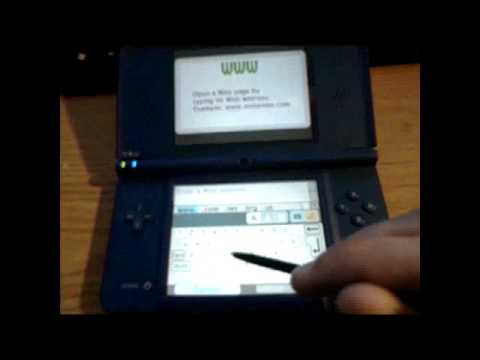 How to Connect to DSi WiFi