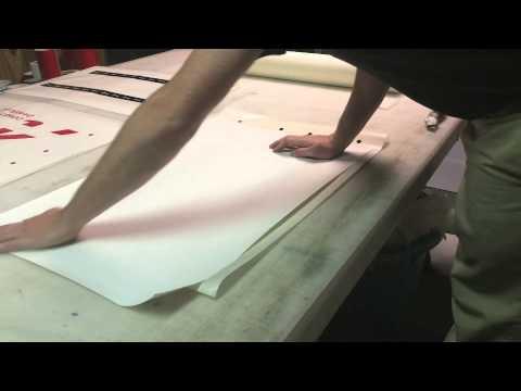 Producing 2 Color Vinyl Decals