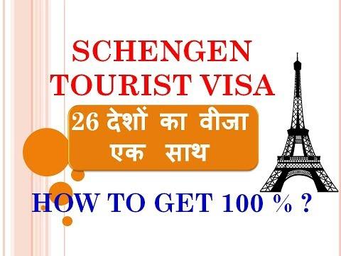 HOW TO GET SCHENGEN TOURIST VISA 100 % GENUINE GUIDANCE |  SCHENGEN टूरिस्ट वीज़ा कैसे प्राप्त करें