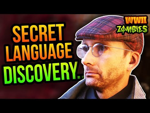 WW2 ZOMBIES SECRET LANGUAGE DISCOVERIES FROM DROSTAN?! Unsolved Easter Egg Hints...
