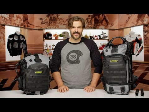 Nelson Rigg Hurricane Waterproof Backpack & Tail Pack Review