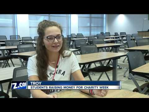 Students raise money for charity week