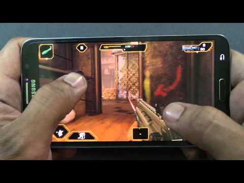 SAMSUNG GALAXY ROUND DEUS EX: THE FALL GAMEPLAY