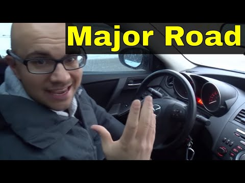 Driving On A Major Road-Beginner Driving Lesson