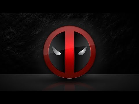 Deadpool Logo Design Adobe Illustrator