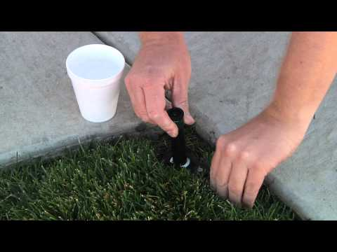 How To Clean A Sprinkler Filter
