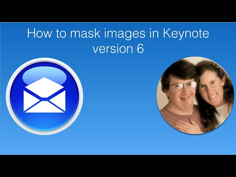 How to Mask Images in Keynote version 6