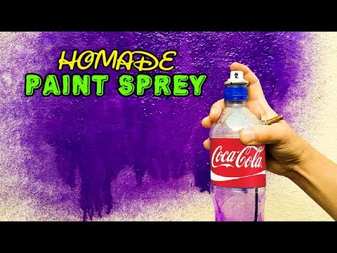DIY Spray Paint | How to Make an Air Spray Paint at Home