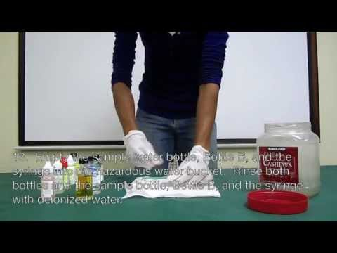 Dissolved Oxygen Water Quality Test