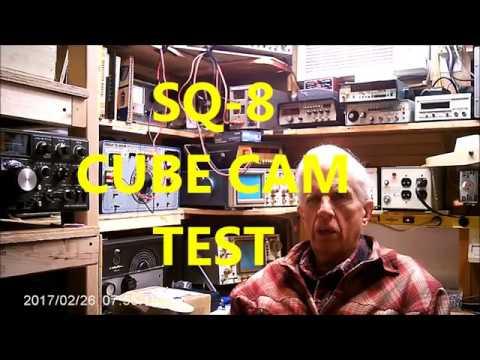 SQ-8  Cube Cam Sync TEST