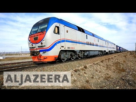 First Britain to China Train arrives in Yiwu
